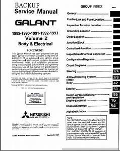 Mitsubishi Galant Eterna Vr4 1989
