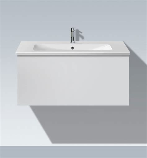 Duravit L Cube by Duravit L Cube 1020mm Vanity Unit With Me By Starck Basin