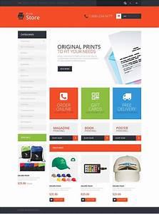 Print Shop Opencart Website Templates  U0026 Themes