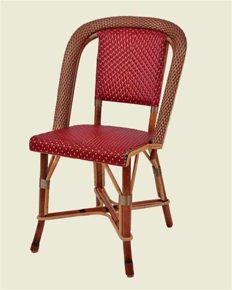 chaise drucker marly chair burgundy gold maison drucker