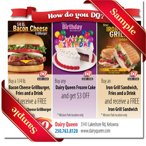 05236 Dairy Coupons Canada Printable by Blizzard Cake Coupon