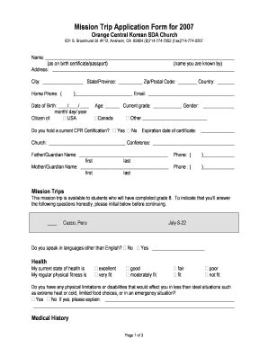 trip application form template trip report sle pdf forms and templates fillable
