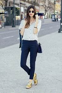 Outfits With Navy Blue Leggings - The Else