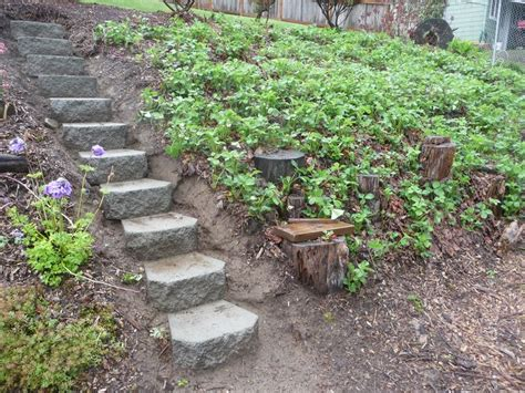 landscaping ideas steps on hill easy use of pavers landscaping a peaceful space projects pinterest gardens tables and