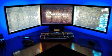 ordinateur de bureau 27 pouces un pc avec trois écrans pour quoi faire comment faire