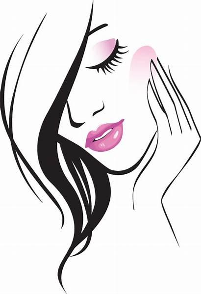 Clipart Woman Cosmetology Beauty Transparent Parlour Salon