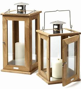 Rugged Teak Lanterns - The Green Head