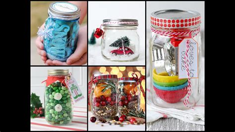 christmas gift   jar ideas  minute