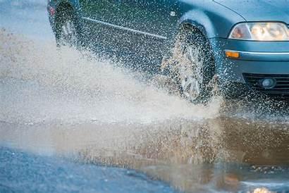 Rain Wet Driving Heavy Weather Drive Service