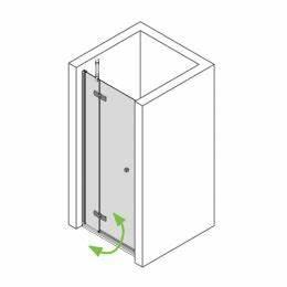 Duschtür 80 Cm : mineralguss duschwanne 90x80 cm bodengleiche dusche 900x800 mm ~ Orissabook.com Haus und Dekorationen