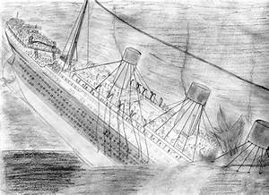 How to draw sinking ships