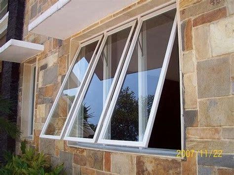 jendela minimalis kaca desain  alumunium pinterest