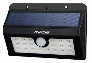 Lampe Extérieure Solaire : amazon lampe solaire de jardin sans fil led avec d tecteur de mouvement ~ Teatrodelosmanantiales.com Idées de Décoration