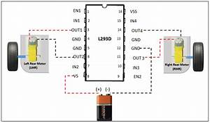 Wiring L293d With Motor