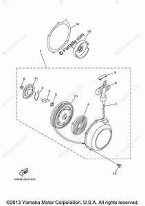 Yamaha Atv 2004 Oem Parts Diagram For Alternate For Engine