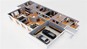 Dessin Intérieur Maison : images 3d de vos projets immobiliers ~ Preciouscoupons.com Idées de Décoration