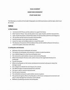 Grade 9 Geography Study Guide