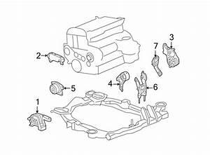 Chevrolet Malibu Engine Mount Bracket  2 2 Liter