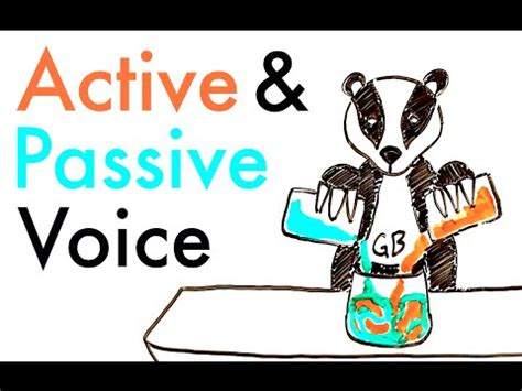 While active voice sentences tend to be more engaging, they can also become tedious unless a few passive voice. Active and Passive Voice - YouTube