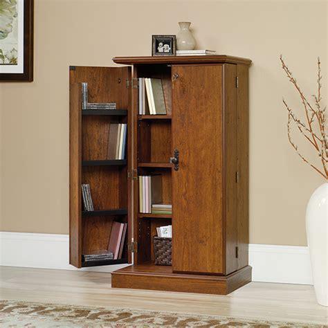 sauder orchard multimedia storage cabinet 418651