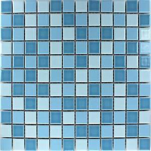 Mosaik Fliesen Blau : mosaikfliesen keramik blau mix 25x25x5mm tm33025m ~ Michelbontemps.com Haus und Dekorationen