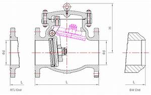 Swing Check Valve - Parts And Material List