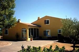 enduit de facades finition frotasse fin d39une maison With couleur facade maison provencale 0 maison provencale moderne
