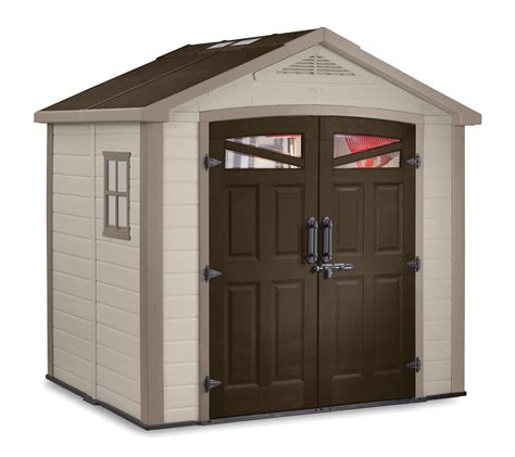 8x6 Plastic Storage Shed by Loren 8x6 Rubbermaid Shed