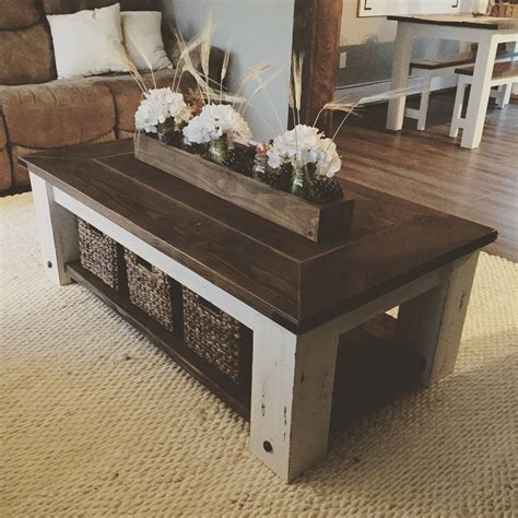diy farmhouse coffee table plans woodworking plans diy etsy
