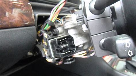bmw e38 e39 e53 e46 signs of a failing ignition switch plus how to replace it