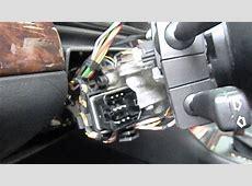 BMW E38 E39 E53 E46 signs of a failing ignition switch