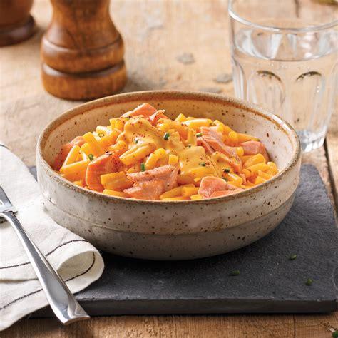 cuisine kraft kraft dinner de luxe au saumon recettes cuisine et