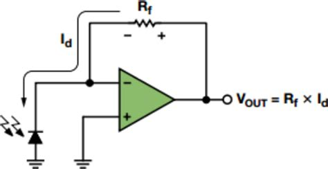 photodiode light detector circuit optimizing precision photodiode sensor circuit design