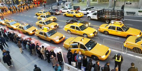 Uber Cars In New York Now Outnumber Yellow Cabs