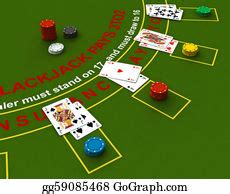 blackjack stock illustrations royalty  gograph