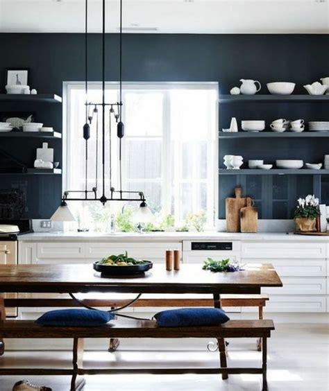 peinture table cuisine couleur peinture cuisine 66 idées fantastiques