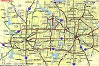 Map of Dallas Fort Worth - TravelsMaps.Com