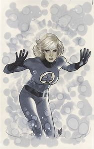 Invisible Woman by Adam Hughes