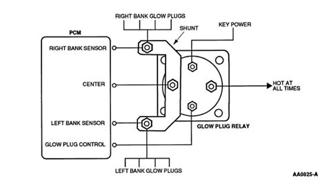 Glow Plug Module Relay For California Truck Diesel
