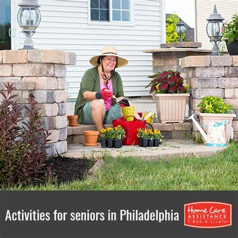 senior friendly activities in philadelphia pa