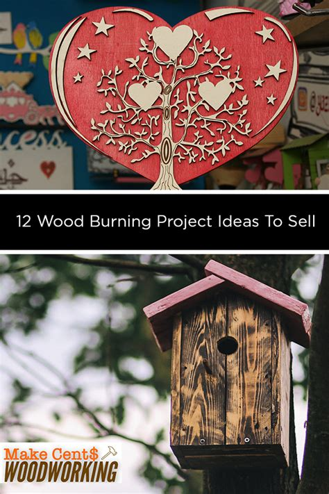 wood burning project ideas  sell cool woodworking