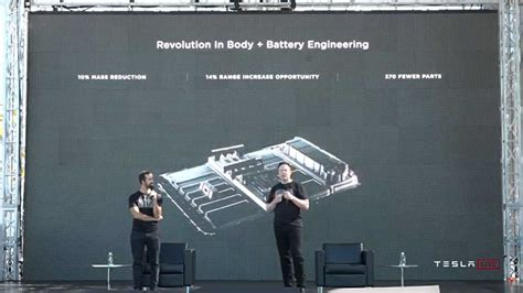 Tesla Will Make Battery Packs Part Of Body Structure