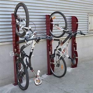 Support De Velo : support cycle mural vertical verrouillable s3o ~ Melissatoandfro.com Idées de Décoration