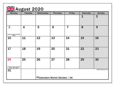 calendar august  uk michel zbinden en