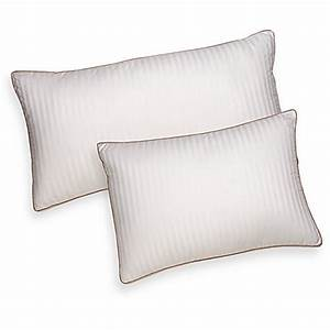 Buy sleep on side pillow from bed bath beyond for Bed bath and beyond sleeping pillows