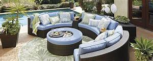 Round Outdoor Sectional Sofa Patio Furniture Orion Bar Set ...
