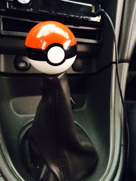 Got My Pokeball Shift Knob For My Mustang