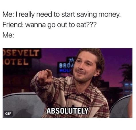 Saving Money Meme - me saving money meme by ali dragneel memedroid