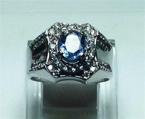 Batu Cincin Blue Safir Menawan jual cincin blue safir sri lanka batu blue safir ceylon
