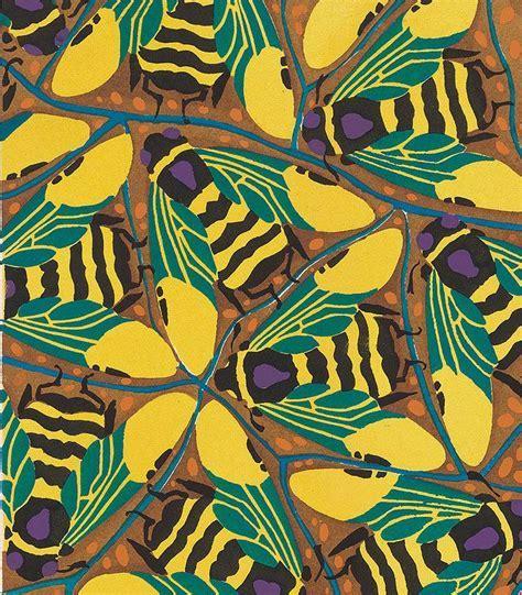 La tela escrita. Diseños de Emile Seguy   pattern.   Art